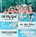 Oh My Girl Fonts