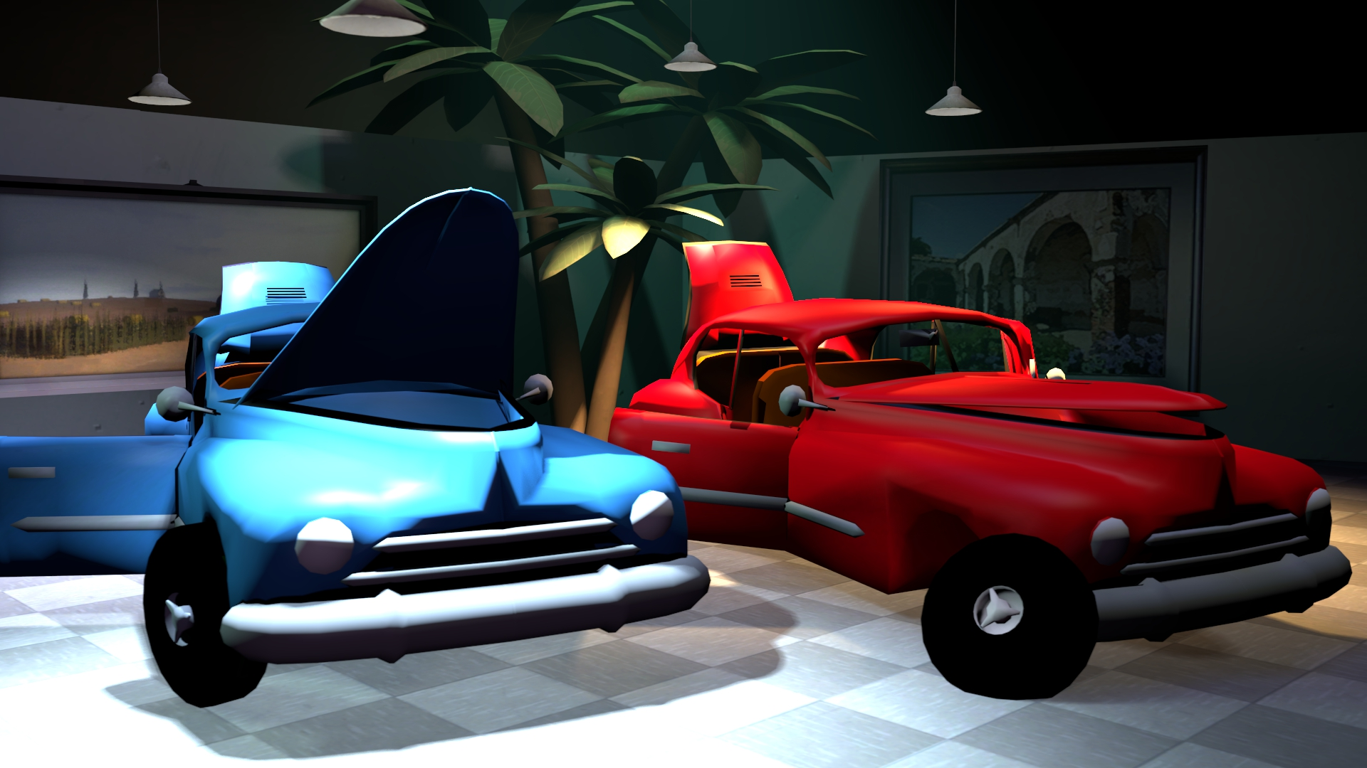 Old}[Download model / SFM] Rigged Classic Car by finalleet on DeviantArt