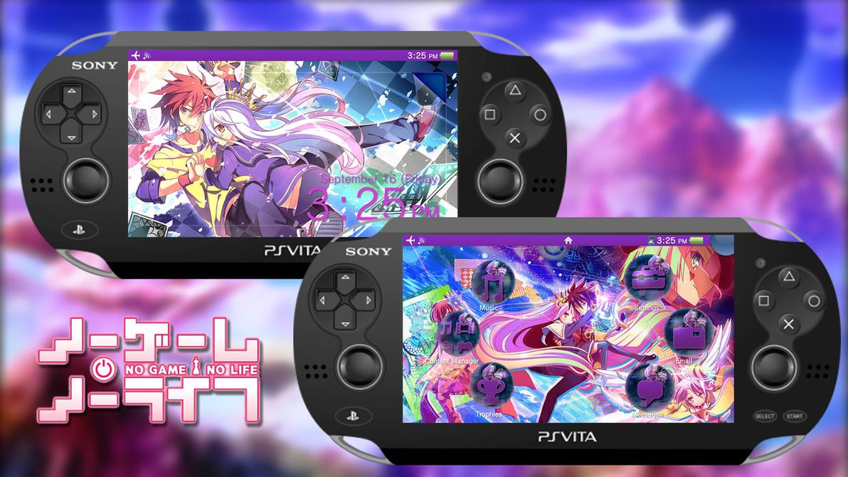 No Game No Life [PS Vita Custom Theme] by TrNxSLAYER