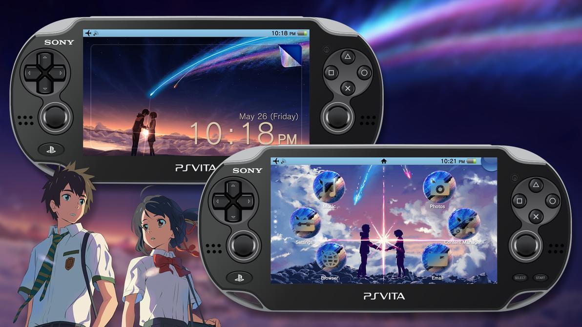 Kimi no Na Wa [PS Vita Custom Theme] by TrNxSLAYER