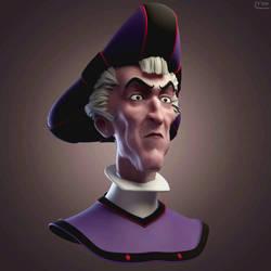 Frollo turnaround animation by silvanuszed