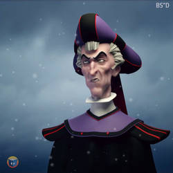 Frollo Animation by silvanuszed