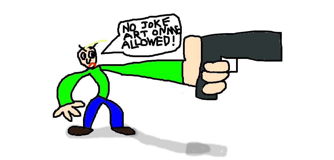 baldi s basic bullshit on joke art by dumpdodoscreations on deviantart