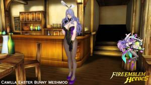 Camilla Easter Bunny Meshmod by A3R0DYNAMIK