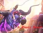 Widowmaker - A Paris Stroll by DisneyOtakuXL