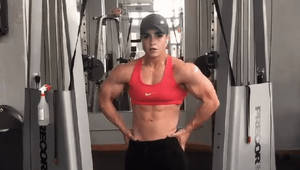 Emma watson showing off