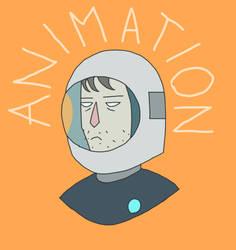 Space Adventurer (animation gif)