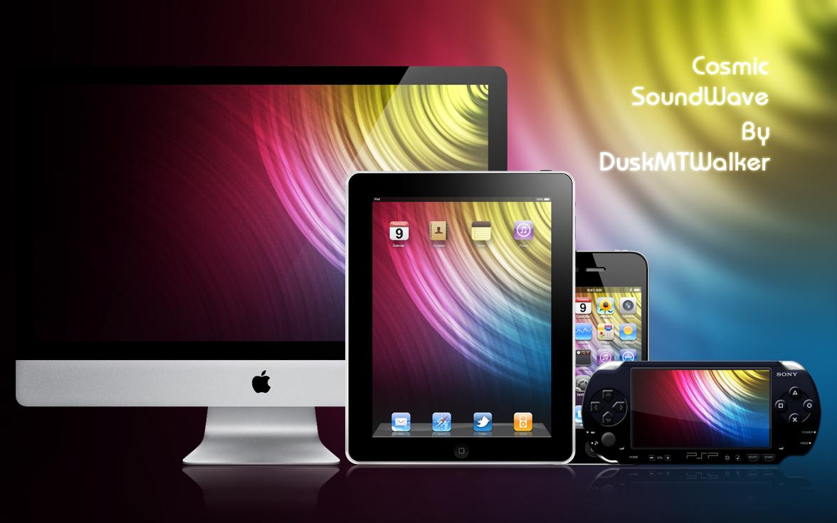 Cosmic SoundWave by DuskMTWalker