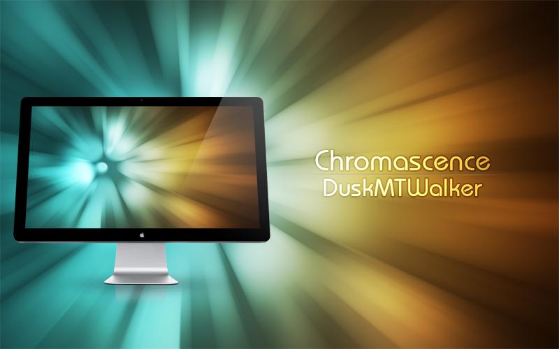 Chromascence Wallpaper by DuskMTWalker
