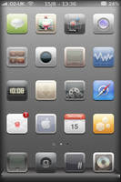 Momentum iPhone theme by BlueMondayPumpa
