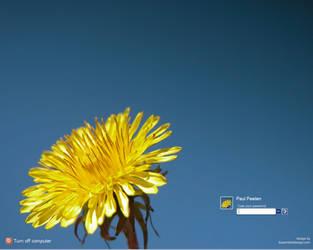 Yellow flower by ppeelen