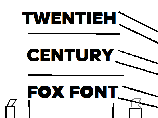 20th century font download