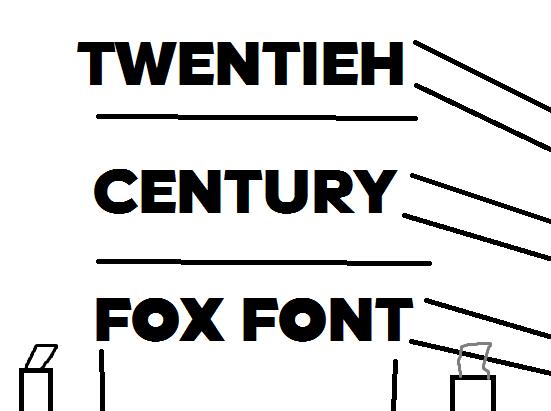 Century Font Paint Net