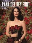 Lana Del Rey Font