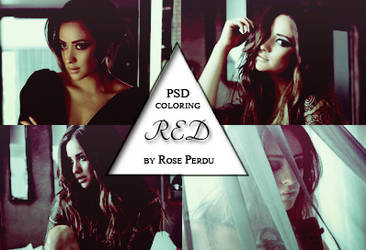 PSD coloring: Red by rose-perdu
