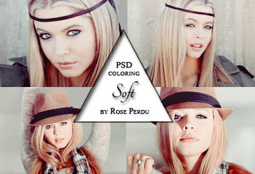 PSD coloring: Soft by rose-perdu