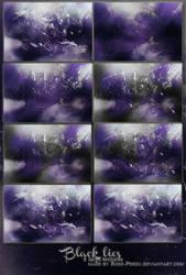 Black Lies large textues by Rose-Perdu by rose-perdu
