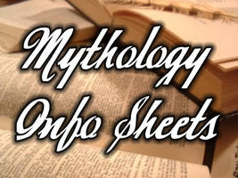 Mythology Info Sheet by inknalcohol