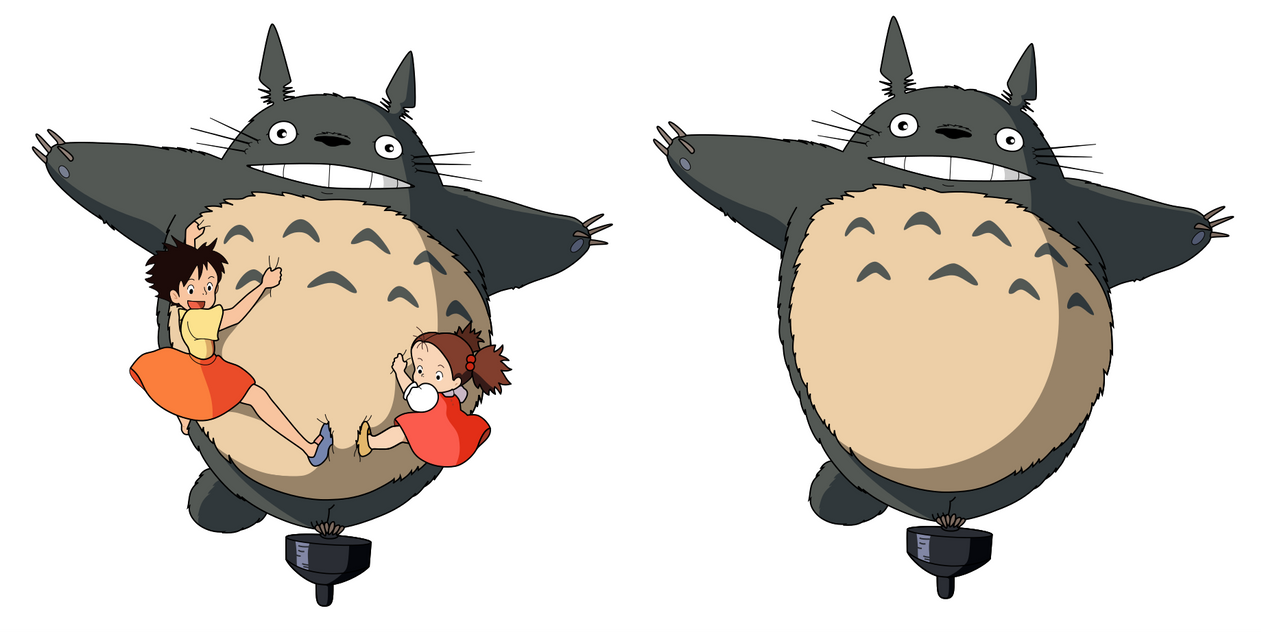 Totoro by wart84 on DeviantArt