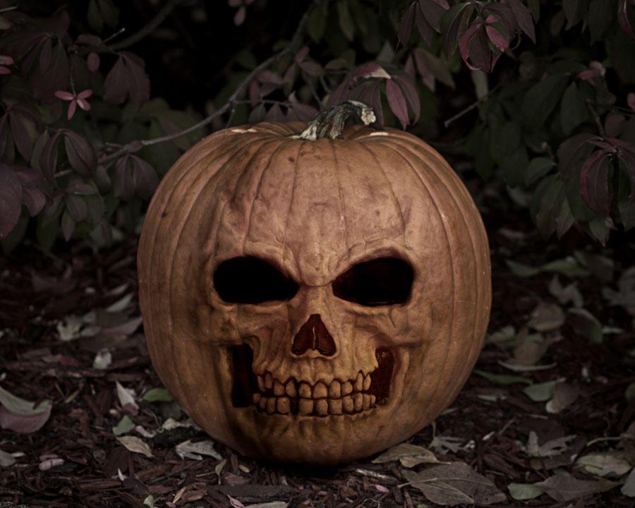 Wallpaper- Halloween Pumpkin by Noko