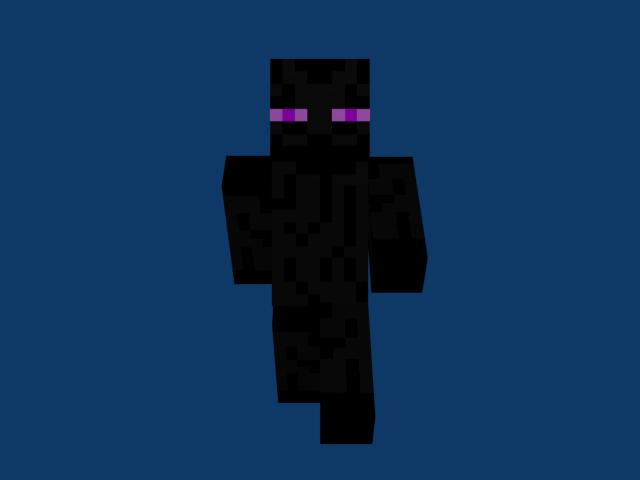 minecraft enderman skin by ghosthunt64 on deviantart