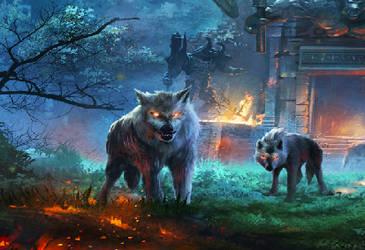 a Doge ~ in the Land of Ooo by rheyankaj
