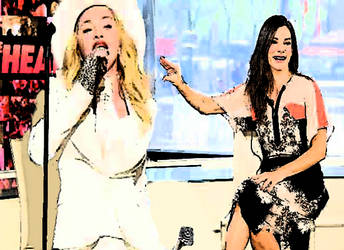 Madonna Vs. Sandra Bullock by rheyankaj
