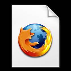 New Firefox HTML Icon