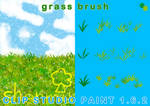 Grass Brush(CLIP STUDIO PAINT)