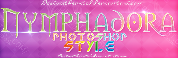 Nymphadora -Photoshop Style- by Bestouthearted