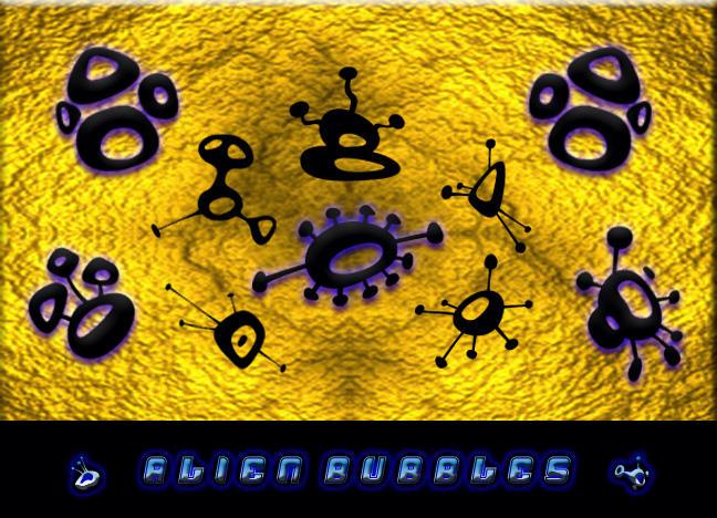 Alien Bubbles by JadePixi