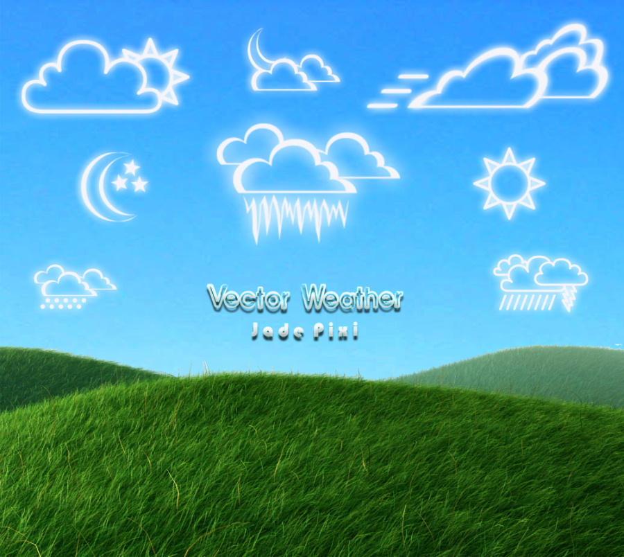 Vector Weather by JadePixi