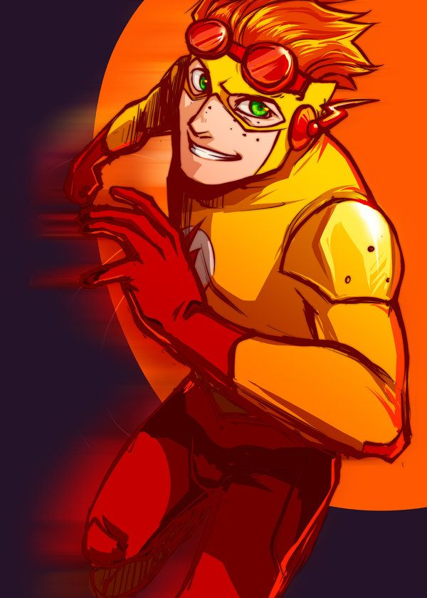 Young Justice:Kid Flash x Deaf!Reader by Naruko88558855 on