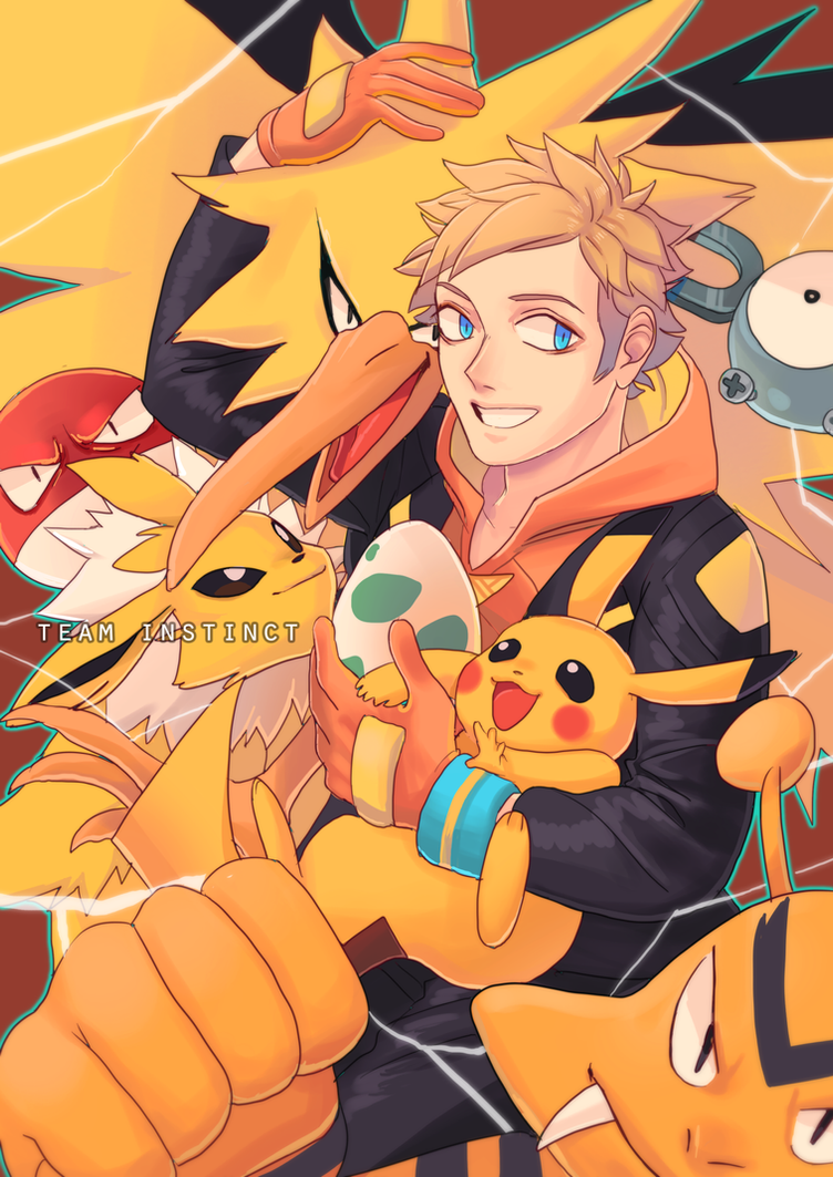 Pokemon Go:Spark x Pregnant!Reader:Yellow Feathers by