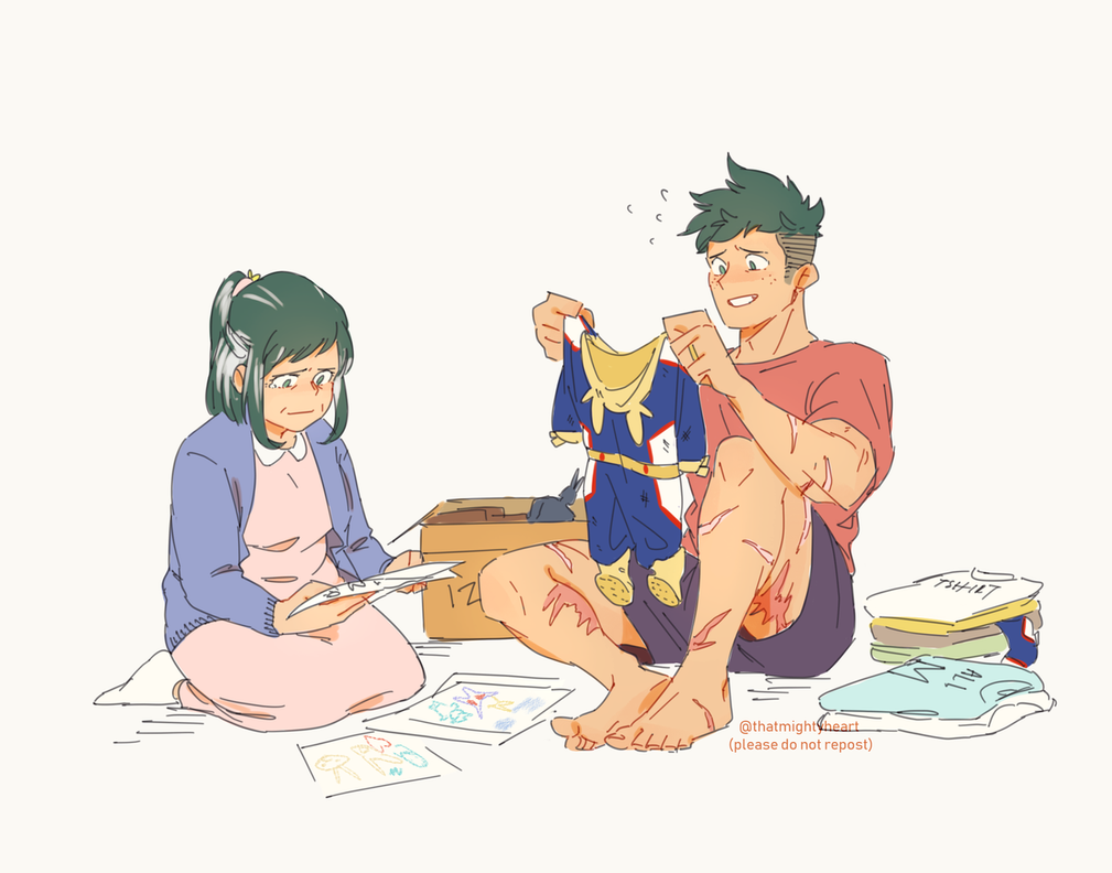Older!Deku x Pregnant!Reader:Little Midoriya~ by Naruko88558855 on