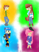 YouTubers in MCSM by gaby2016