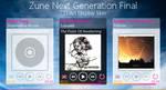 Zune Next Gen CD Art Display