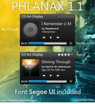 Phlanax 1.1 CD Art Display