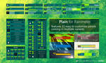 Plain for Rainmeter by Fi3uR