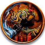 Reinhardt/GuanYu Resin Bowl *SOLD*