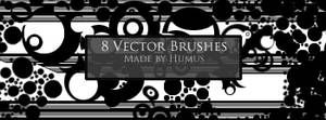 First Vector Set -8 Brushes-