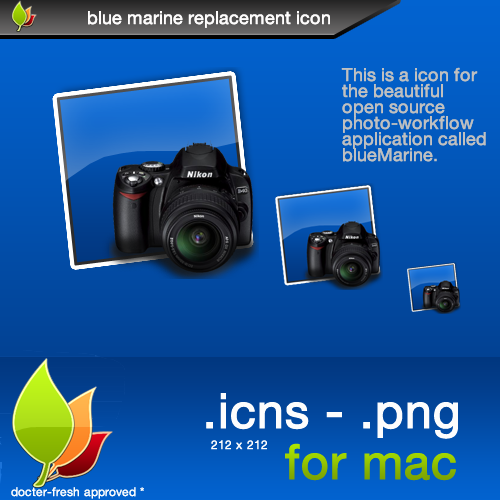 blueMarine Replacement Icon by docter-fresh