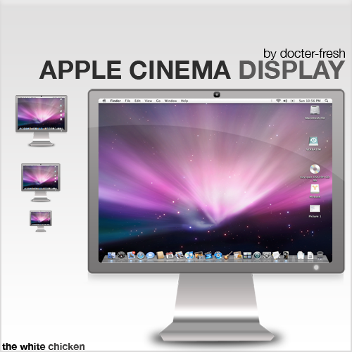 Apple Cinema Display - Icon by docter-fresh