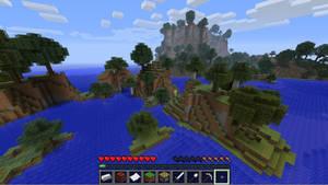 Minecraft HUD Desktop