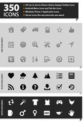 350 Mobile App Icons by yt458