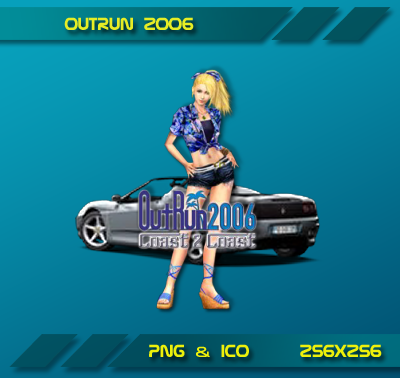 Outrun 2006 Dock Icon by Dohc-WP on DeviantArt