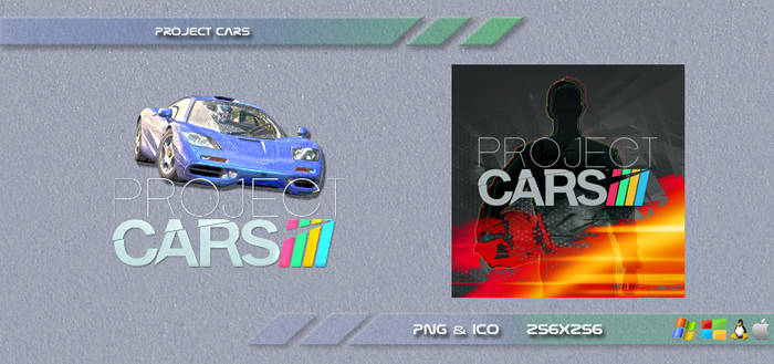 Project Cars Dock Icons