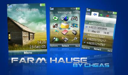 FarmHause Sony Ericsson Theme