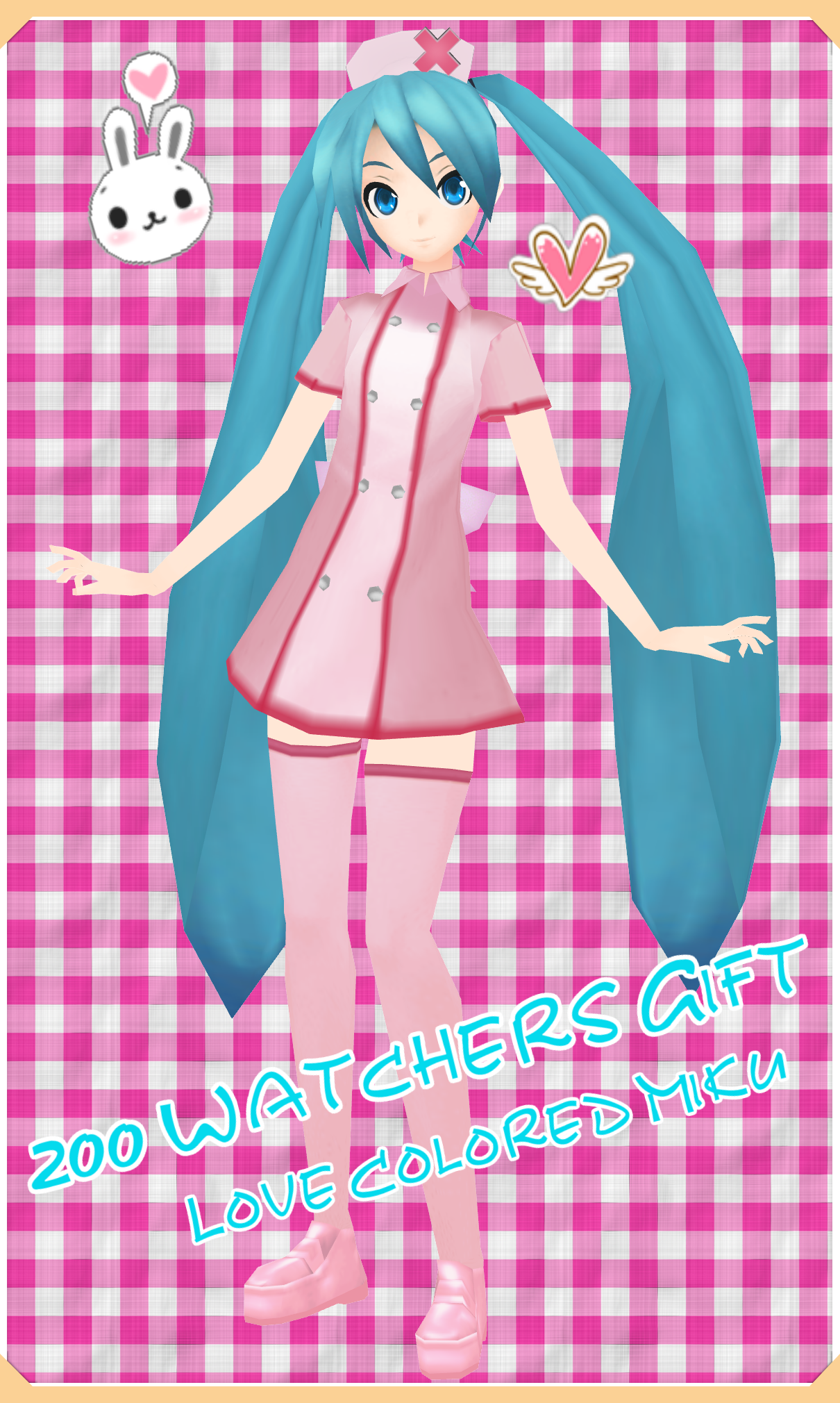 [+200 Watchers Gift] PDE LCW Miku Download by Dan1024