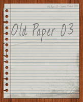 Old Paper 03 by slevin28